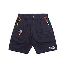 HEA原创中国风醒狮元素休闲短裤