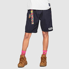 HEA原创中国风醒狮元素男女同款休闲短裤