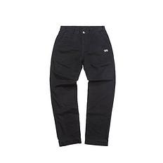 HEA潮牌原创设计中国风醒狮元素刺绣休闲裤