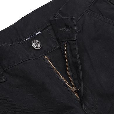 潮牌原创设计中国风醒狮元素刺绣男女同款休闲裤