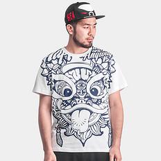 HEA醒狮印花本土原创短袖T恤
