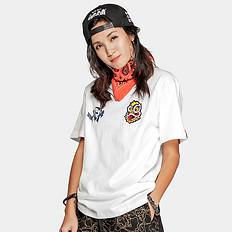 HEA潮牌原创醒狮元素狮子头中国风印花男女同款短袖T恤