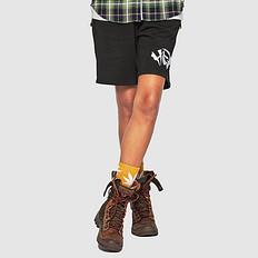 HEA潮牌原创中国风醒狮元素刺绣男女同款休闲短裤