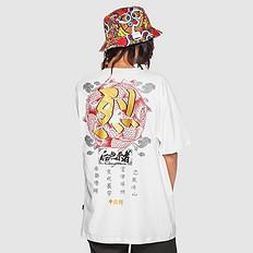 银鳞堂【HOT】原创中国风设计刺绣男女同款短袖T恤