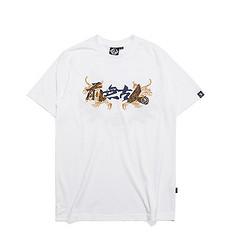银鳞堂潮牌原创中国风设计刺绣男女同款短袖T恤