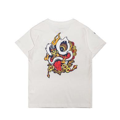原创潮牌中国风醒狮元素童装T恤