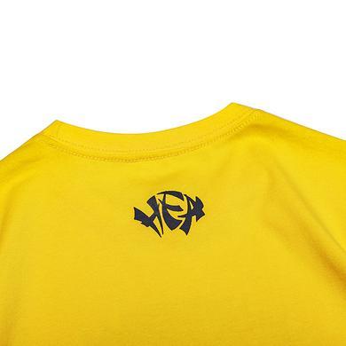 原创潮牌中国风醒狮元素狮子头印花童装T恤