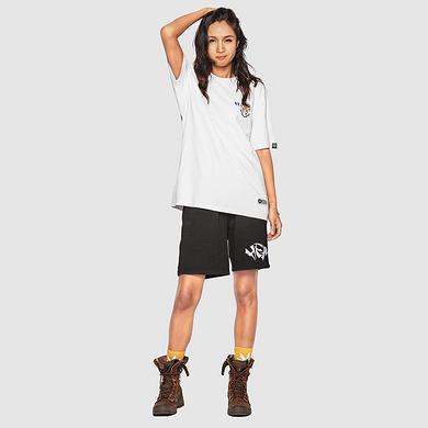 原创中国风设计潮流狮子头印花刺绣男女同款短袖T恤