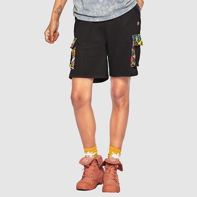 中国风醒狮多口袋休闲男女同款短裤