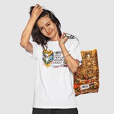 HEA潮牌原创中国风狮子头印花男女同款短袖T恤