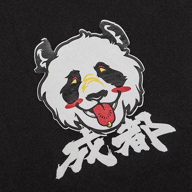 潮牌原创醒狮元素狮子头成都特别版男女同款短袖T恤