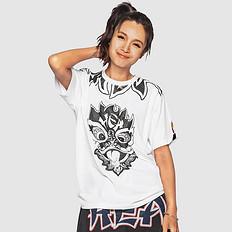 HEA原创中国风醒狮元素狮子头印花男女同款短袖T恤