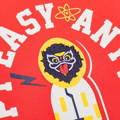 【5折特惠】原创中国风潮流元素印花男女同款短袖T恤