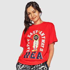 HEA原创中国风潮流元素印花男女同款短袖T恤