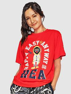 【5折】原创中国风潮流元素印花男女同款短袖T恤