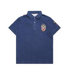 HEA醒狮元素男女同款童装短袖Polo衫