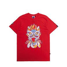 HEA醒狮元素狮子印花短袖T恤