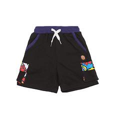 HEA原创设计撞色拼接男女童同款休闲短裤