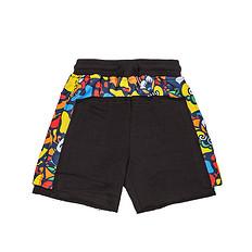 HEA原创中国风醒狮元素印花男女同款童装休闲短裤