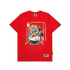 HEA原创设计醒狮元素狮子头男女同款短袖T恤