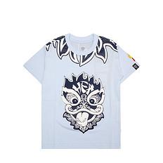HEA原创设计醒狮元素狮子头童装男女同款短袖T恤