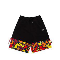 HEA原创设计形式原色迷彩撞色男女同款休闲短裤