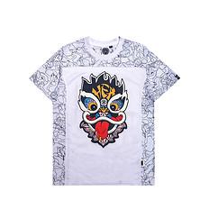 HEA原创设计醒狮元素男女同款短袖T恤足球服