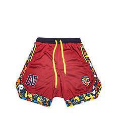 HEA原创设计醒狮元素纯色迷彩休闲短裤