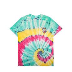HEA 本土原创潮牌醒狮元素狮子头扎染男女同款休闲短袖T恤
