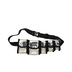 HEA原创潮牌设计醒狮迷彩透明腰包小包蹦迪包