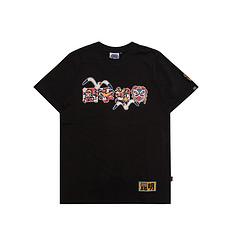 HEA原创设计醒狮元素印花昆明特别款休闲短袖T恤