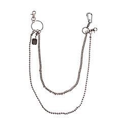 HEA原创设计潮流脖子裤链机能金属腰链