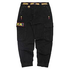 HEA原创潮牌设计醒狮元素印花工装休闲裤