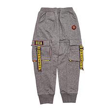 HEA【童装】原创设计中国风醒狮元素童装休闲裤