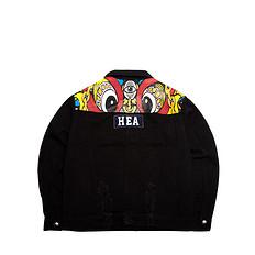 HEA【冬】潮牌原创中国醒狮元素印花外套
