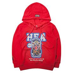 HEA【童装】潮牌原创中国传统醒狮元素长袖童装卫衣