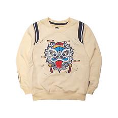 HEA【童装】潮牌原创中国传统醒狮童装长袖卫衣