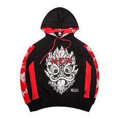HEA【冬】潮牌原创中国风醒狮logo印花卫衣