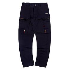 HEA潮牌原创设计中国风醒狮元素简约拼接休闲裤