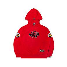 HEA【冬】潮牌原创中国风醒狮元素字母印花男女同款套头卫衣