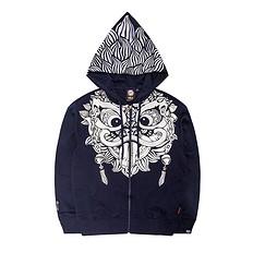 HEA【冬】潮牌原创中国风狮子头印花男女同款长袖卫衣