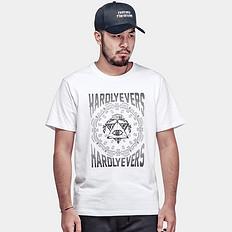 HARDLY EVER'S【清】【HOT】西岸风圆领短袖T恤