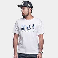 HARDLY EVER'S【清】【HOT】KILL字母印花短袖T恤